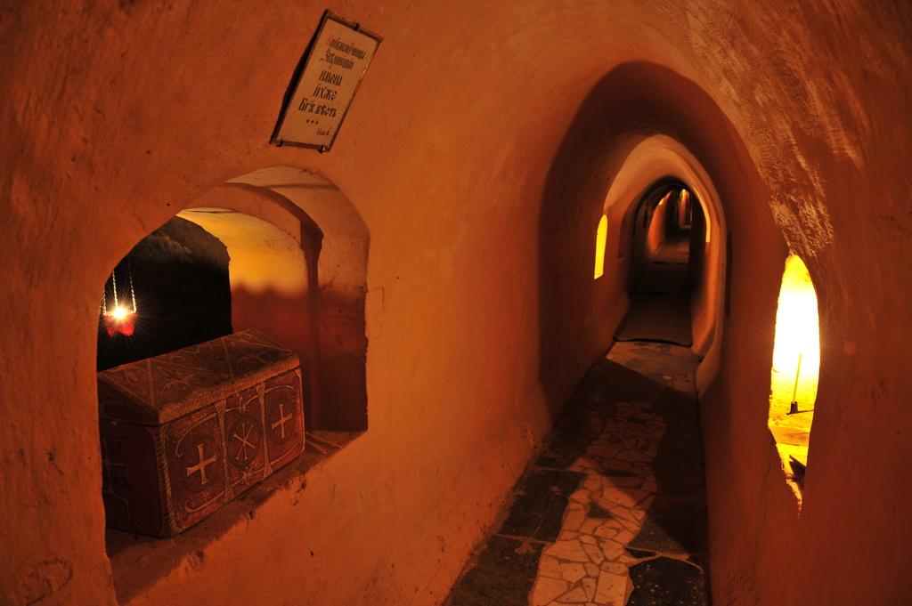 Звериницкие пещеры в Киеве