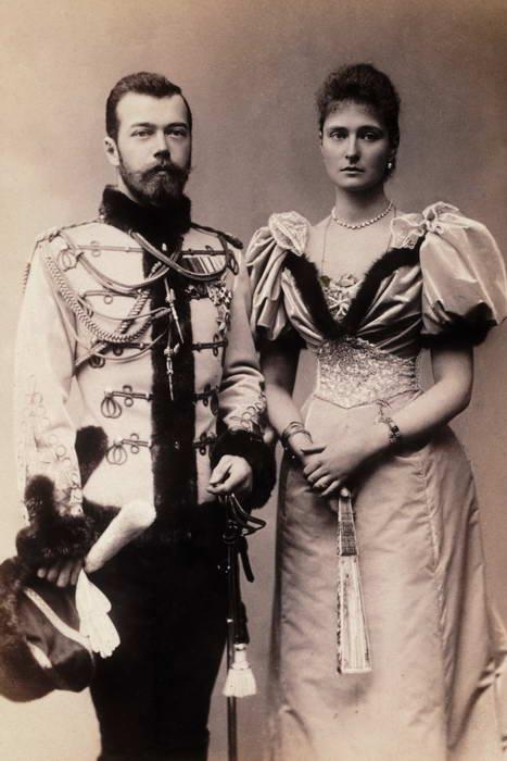 Czar Nicholas II and Alexandra