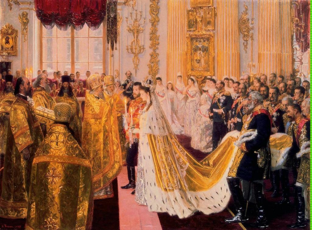 Tuxen_Laurits-ZZZ-Wedding_of_Nicholas_II_and_Grand_Princess_Alexandra_Fyodorovna