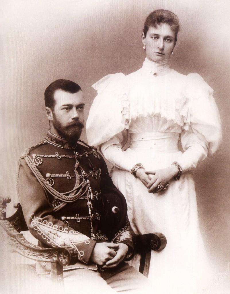 tsar_Nikolai_i_Aleksandra_v_pervii_god_supruzhestva